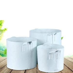 Tessuto non tessuto Riutilizzabile Soft-Sided altamente sviluppabile traspirante Borsa da coltivazione con manici Fioriera grande 10 dimensioni