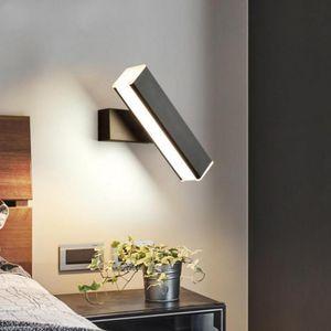 Usine de production de chevet Applique Etude Rotary Dimming LED Wall Light gros Salon Chambre Couloir d'éclairage