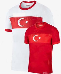 2020 2021 TÜRKEIS Fussball Jerseys Nationalmannschaft Home Away Calhanoglu 20 21 Fußball-Hemd S-2XL