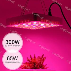 Vollspektrum-LED-Wachstum-Lichter 300LEDS-Square Guter Kühler ABS-PMMA-Abdeckung für abgedeckte Wachstum Zelt Green Häuser Pflanze Hydroponische Systeme DHL