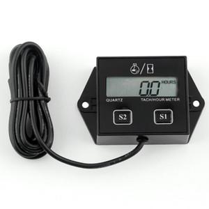 Affichage LCD Numérique Tachymètre Compteur Jauge Tachymétrique Inductif Pour Motocyclette Course Moteur Spark Chaud 20