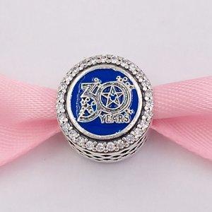 Аутентичные 925 Стерлинговые серебряные бусины стерлингового серебра подходит для европейских ювелирных украшений в стиле Pandora