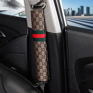 auto 2pcs Car dicurezza cintura di sicurezza bambini coprire isofix Accessori spalla della cintura di sicurezza Pad Protezione Imbottitura regalo per i bambini