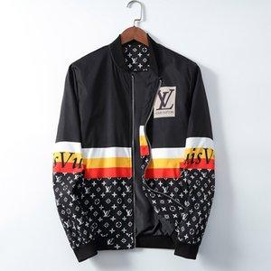 2020 Herren-Designer-Jacke Windjacke mit Kapuze für Männer Frauen Herbst-Winter-Reißverschluss-Oberbekleidung-Mantel Mode Blumenmuster Jacke