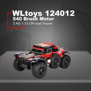 Venta al por mayor 124012 RC Climber 540 Brush Motor 2.4G 1:12 Tractor de cuatro ruedas eléctrico todoterreno Vehículo automático RC Car Racing