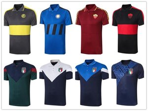 polo Roman 20 20 Itália time de futebol camisa POLO 20 21 alta qualidade corrida futebol do treinamento Jersey