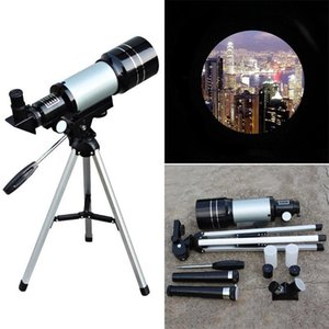 F30070M portátil Pro refletor Caminhadas Telescope Space Travel Astronomical Monocular 150X externo multifuncional com tripé