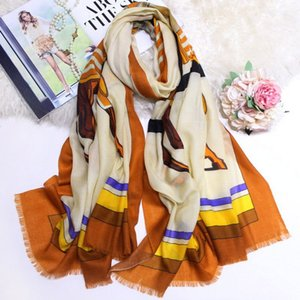 EURO LUXURY Scarves For Women Long Thick Cashmere Scarf Female Elegant Lady's Muffler Warm Comfortable Scarves Shawls Wraps Pashmina Muffer