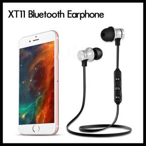 XT11 Bluetooth наушники Беспроводные спортивные наушники гарнитура BT 4.2 с микрофоном MP3 вкладыши для iPhone LG смартфонов с розничной коробкой