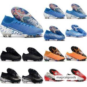 2020 Superfly VI 360 Elite FG KJ 13s CR7 Ronaldo Mens alta Chuteiras 13 Low Futebol Botas Grampos