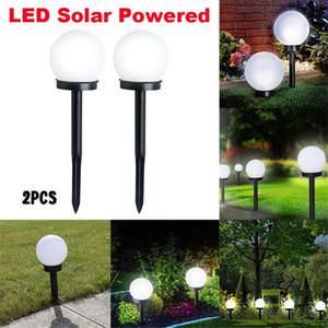 1,2 V DC Wasserdichte LED-Sonnenenergie-im Freien Garten-Weg-Licht Yard Rasen Straße Punkt-Lampen-Dekoration-Beleuchtung Lampe