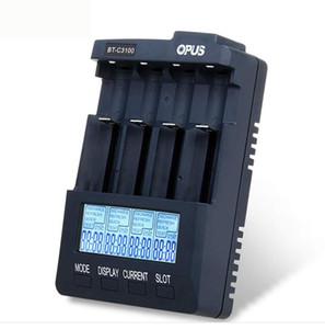 Opus литиевая батарея зарядного устройство 4 Гнезда для цифрового Универсального зарядного устройство BT-C3100 4 Функции для 18650 20700 26650 14500 батарей