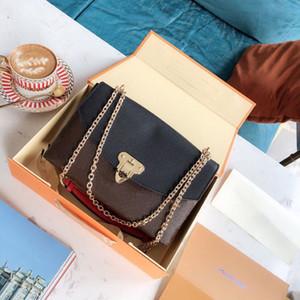 designer mala de luxo bolsa Placide L mulheres teste padrão de flor no ombro cadeia de designer alça sacos senhoras bolsas saco com caixa