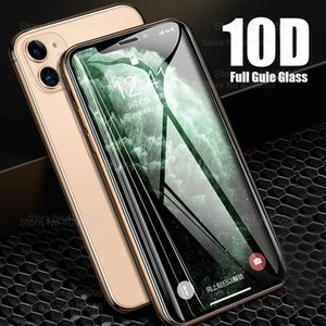 10D Protective glass on for Apple iphone 11 pro max x xr xs max screen protector armor aiphone 11pro 11 promax x s r tremp glass