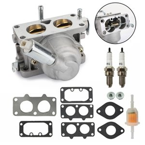 Areyourshop Car Carburetor with Gasket For Briggs & Stratton TWIN 20HP-25HP 791230 US STOCK Car Accessories Parts