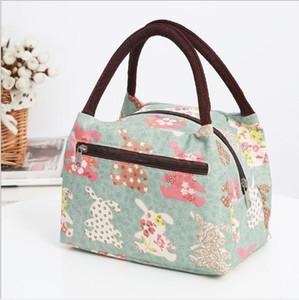 Hand-held saco Bento Bento Pacote À Prova D 'Água Pacote de Mamãe Senhora Almoço Pacote caixa de almoço sacos pequeno saco de pano bolsa