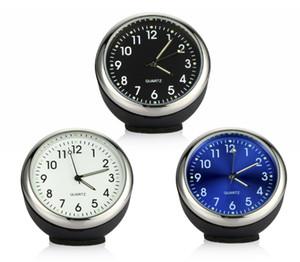 Ornamento del reloj del auto Reloj Automático Decoración Automóviles Interior del tablero de instrumentos Exhibición del tiempo Puntero digital Reloj en accesorios para autos