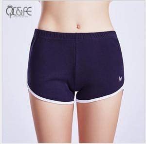 Противоизносные спортивные шорты женские свободные и тонкие в стиле Yoga Fitness Running Outside Speed Dry Hot Pants летом