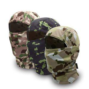 Camouflage Motorcycle Neck Gaiter Cycling Mask Motocross Face Mask Shield Military Tactical Bandana Balaclava Scarf Men Women