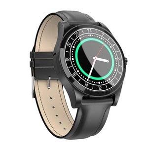 Akıllı İzle DT19 Arama Çağrı Kalp Hızı Kan Basıncı Spor Spor Izci SmartWatch Bluetooth Erkekler Kadın Metal Kol Saatleri