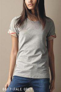 2020 Novo 100% algodão Womens Designer T Mulheres curto SleeveTee shirt para mulheres verão camisetas Camisas Casual