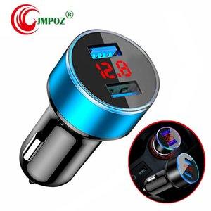 높은 품질 유니버설 스마트 퓨즈 회로 차단기 보호 휴대 전화 태블릿 PC 용 듀얼 USB 포트 5V 2.1A 1A 차량용 충전기