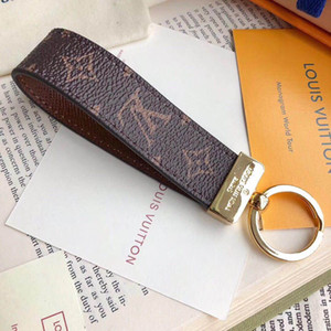 Hohe qualtiy Leder Luxus Schlüsselanhänger Schlüsselanhänger Ring Halter Marke Schlüsselanhänger Porte Clef Geschenk Männer Frauen Souvenirs Auto Tasche Jaos4a