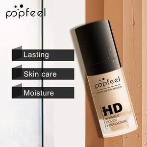 POPFEEL trucco fondamento liquido idratante impermeabile Concealer BB Cream Perfect Beauty New Soft Matte lunga durata Fondazione