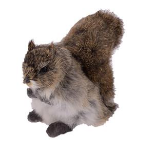 2019 Новый симулятор животных белка мини-животных плюшевые игрушки модель модель украшения на день рождения подарок ремесла 20x10x14cm dy80051
