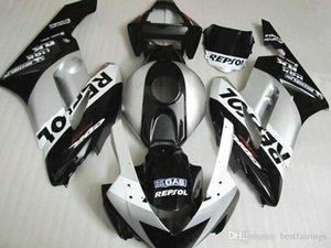 High grade Fairings for Honda CBR1000RR 2004 2005 silver white black Injection mold fairing kit CBR 1000 RR 04 05 CG45