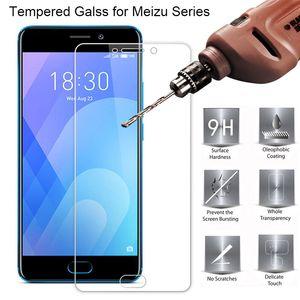 9H HD de vidro temperado para Meizu M3S M5S M5C M3 M5 Nota tela de vidro para Meizu M15 Além disso M1 M2 Protector de vidro no Meizu M6 Nota