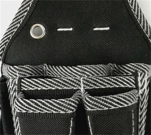 Homem eletricista Repair Tool Bag Multifuncional Preto Branco sarja Bolsa de Cintura Simples Toolbox Terylene Conveniente Hot Vendas 15 29rdC1