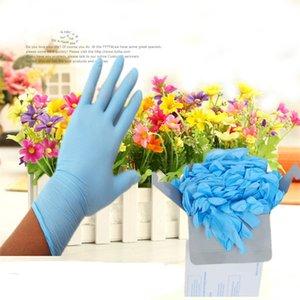 Guanti 100pcs Confezione monouso guanti di nitrile lattice di gomma di protezione del commestibile cucina arrosto di cottura guanti monouso in vinile Guanto B4101 nuovi
