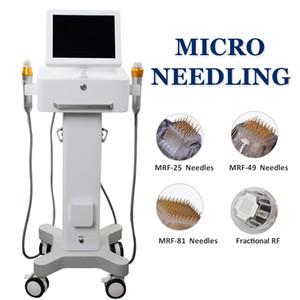 2021 Вертикальная Microneedling Acne Scar Removal Machine 20 Micro Needling Картриджи Microneedle РФ Thermage Face Lift Устройства