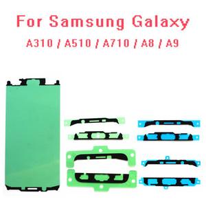 100pcs lot Original Pre-Cut Front Frame Adhesive LCD Sticker Glue Tape for Samsung Galaxy A310 A510 A710 A8000 A9000 A3 A5 A7 2016