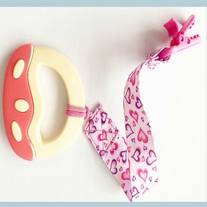 Pacifier Belt Baby Antichain Clip Nipple Guttapercha Strap Release Antidrop Toy Antilost Rope Pacifier Belt mycutebaby007 xTskg