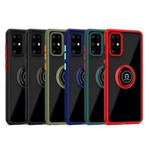 Antiurto Anello cassa del telefono per Samsung S20 S20 Inoltre magnetica Ultra S20 S10 A20 A70 A51 A71 Nota 10 Car Holder copertura per Huawei P40 P40 Pro