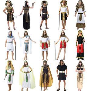 Partido Traje Cosplay Halloween Tema Cos Costume Antiga Rainha Romana Princesa Adulto Roupas Nacionais Roupas Faraó Egípcio 06