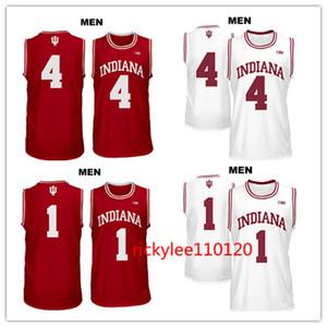 NCAA jersey basket Indiana Hoosiers collegio formato Victor 4 Oladipo noah 1 vonleh ricamo Jersey su ordinazione giocatore cucito S-5XL