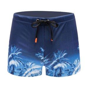 2019 Verão Swimwear Homens Sexy Swimsuit Boy fatos de banho Trunks Shorts Swim Trunks Praia Shorts Natação Surf Briefs Natação Calças