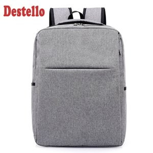 back High quality pack fashion gray comfortable anti theft laptop backpacking school backpack business backpacks travel bag
