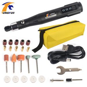 Mini électrique rotatif Drill Gravure Pen 30W professionnelle Broyage de fraisage Outils de polissage stylo électrique meulage Drill outil Y200323