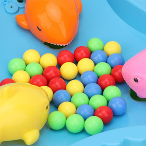 Hot Montessori Toy Hungry Frog Swallow Bead Funny Table Game Feeding Frogs Parent-child Interaction Toys Board Game Educational