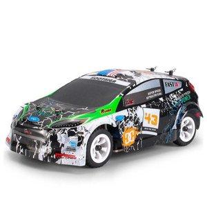 RCtown WLtoys K989 1/28 2.4G 4WD spazzolato RC Remote Rally Car Control RTR con il trasmettitore di 10 ordini