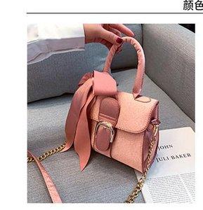 Bag Ladies ombro de saco de veludo Outono 2020 New Bag Mulheres Moda Bow Velvet Bolsa