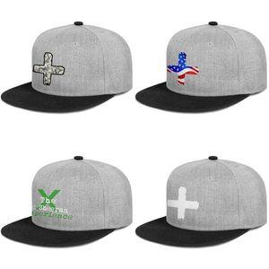 Ed Sheeran + negro blanco para los hombres y mujeres del broche de presión, brimcap plana de béisbol de diseño diseño de sus propios sombreros de moda Ed Sheeran x americana