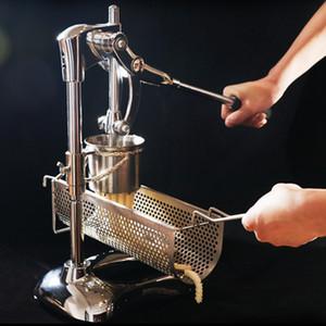 Süper Uzun French Fries Makineleri Makineleri Paslanmaz En Uzun Footlong Patates Püresi Fried Cips Ekstrüderleri Ricers Cihazı