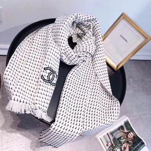 Neue Art und Weise Womn'sn Seidenschal Quadrat-Schal-Schal Wraps 180 * 70cm heißen Verkaufs-Schal Gedruckt für Frühling, Sommer, Herbst Winte Brief schwarz wissen