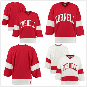 Cornell Big Red sur mesure Sam Malinski Jersey 24 Brenden Locke 28 Matthew Galajda 35 Noé Bauld 9 Ben Bérard 29 Misha chanson 18 Muzyka 2 S-3XL