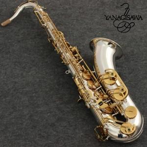 جديد تينور ساكسفون yanagisawa T-9930 الآلات الموسيقية bb نغمة النيكل الفضة مطلي أنبوب الذهب مفتاح ساكس مع حالة المعبرة